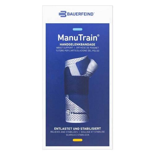 Manutrain Handgelenkbandage Größe 3 links titan - 1