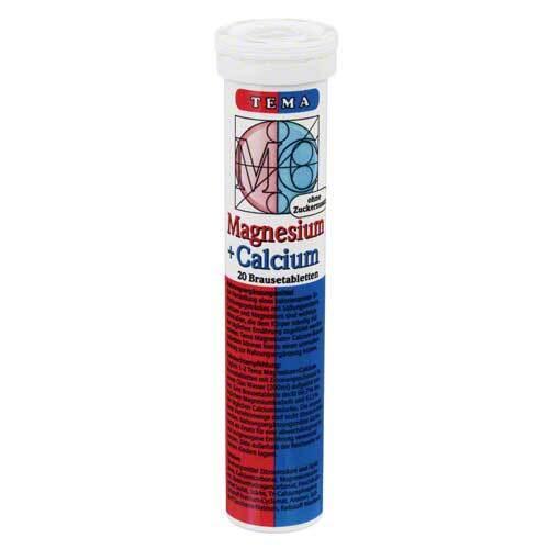 Magnesium + Calcium Brausetabletten - 1