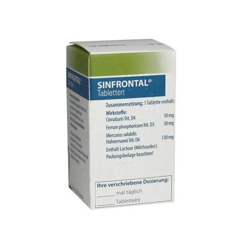 Sinfrontal Tabletten - 1