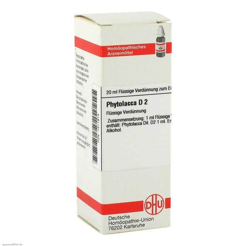 DHU Phytolacca D 2 Dilution - 1