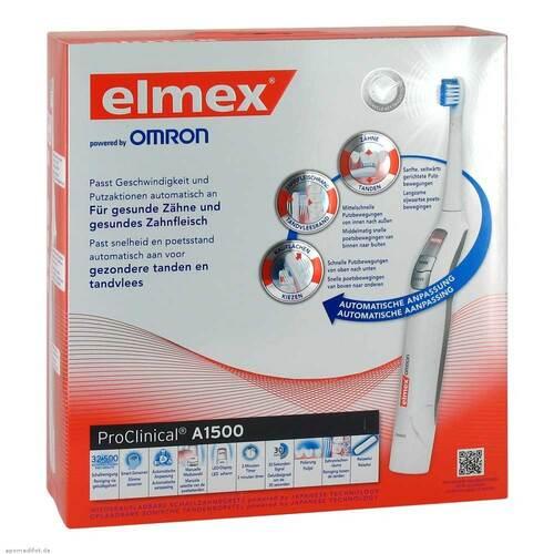 Elmex Proclinical A1500 elektrische Zahnbürste - 1