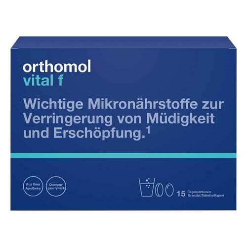 Orthomol Vital F 15 Granulat / Kapseln Kombipackung - 1