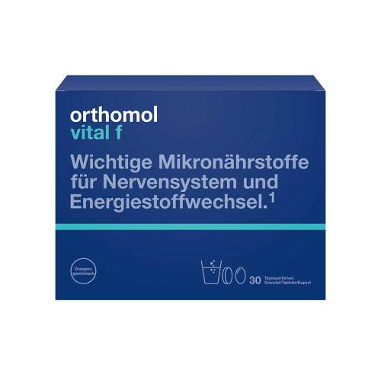 Orthomol Vital F 30 Granulat / Kapseln Kombipackung - 1