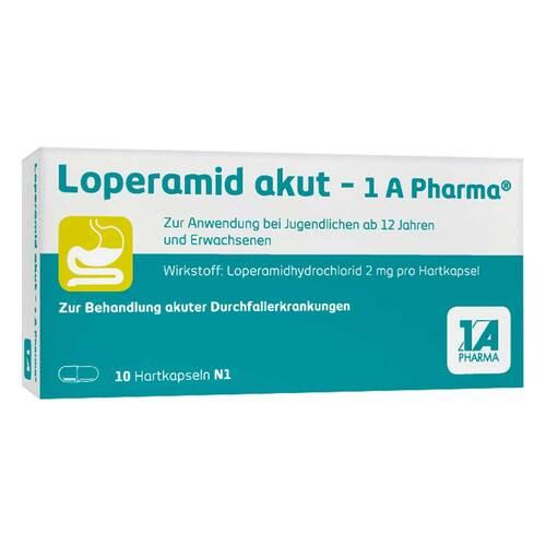Loperamid akut 1A Pharma Hartkapseln - 1