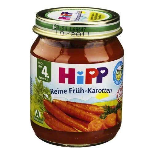 Hipp Bio Gemüse Frühkarotten - 1