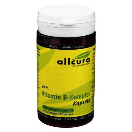 allcura Vitamin B Komplex Kapseln - 1