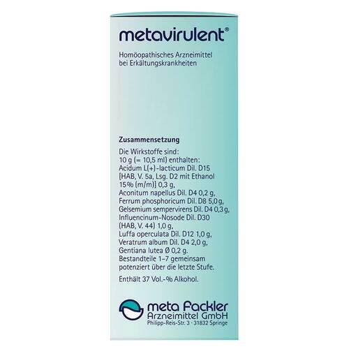 Metavirulent Tropfen zum Einnehmen - 4