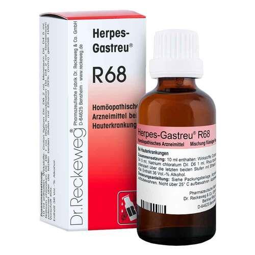 Herpes Gastreu R 68 Tropfen zum Einnehmen - 1