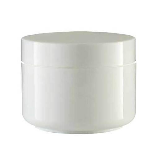 Cremedose doppelwandig weiß 50 ml - 1