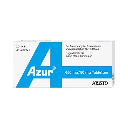 Azur Paracetamol plus Coffein Tabletten - 1