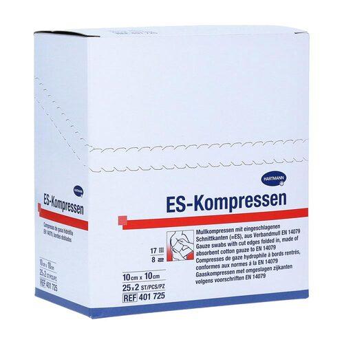 ES-Kompressen steril 10x10 cm 8fach - 1
