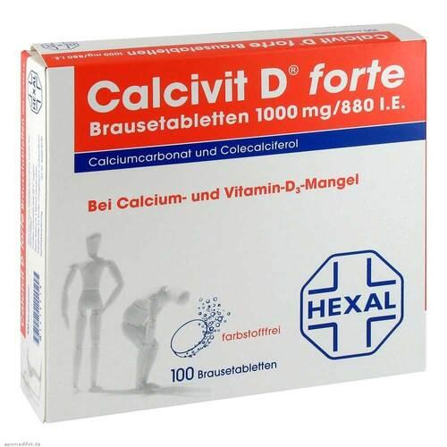 Calcivit D forte Brausetabletten - 1