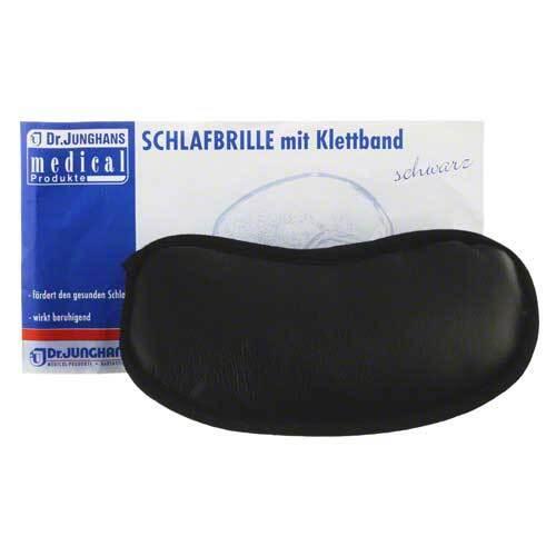 Schlafbrille mit Klettband - 1