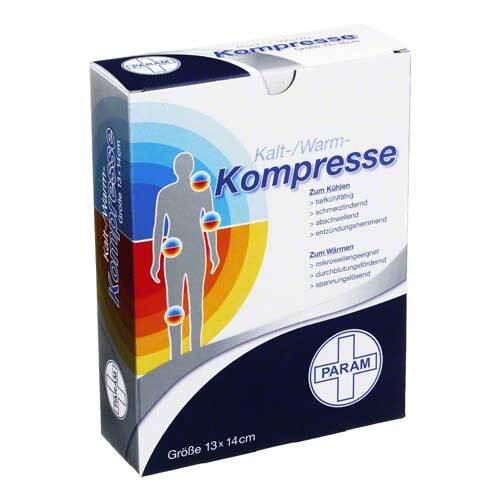 Kalt-Warm Kompresse 13x14 cm - 1