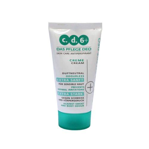 c.d.6+ Pflegedeo Creme - 1