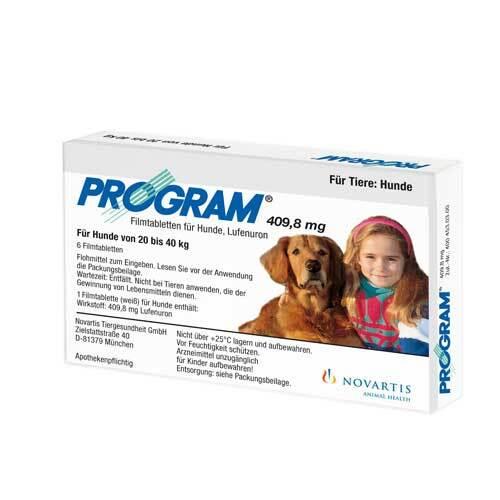 Program Tabletten für Hunde 409,8mg 20 - 40kg - 1