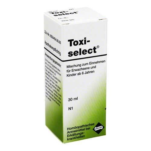 Toxiselect Tropfen bei grippeähnlichen, fieberhaften Erkrankungen - 1
