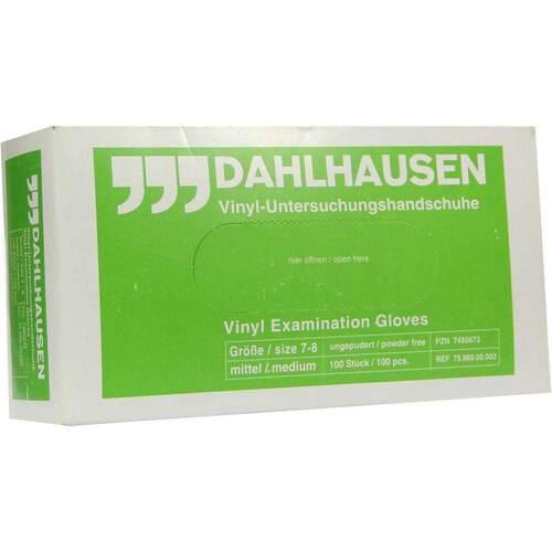 Handschuhe Untersuchung Vinyl puderfrei mittel - 1