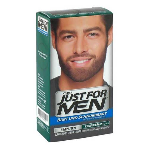 Just for men Brush in Color Gel schwarzbraun - 1