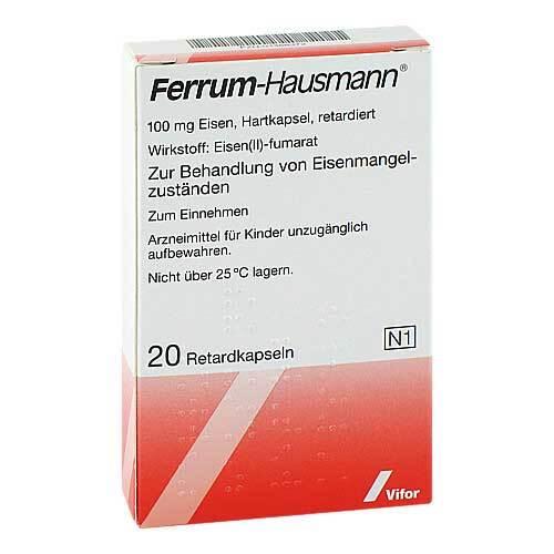 Ferrum Hausmann Retardkapseln - 1