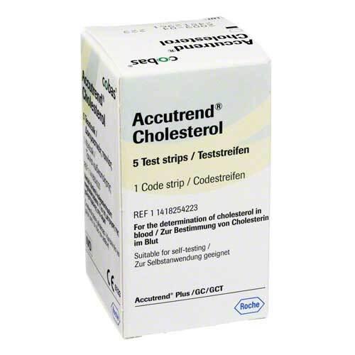 Accutrend Cholesterol Testst - 1