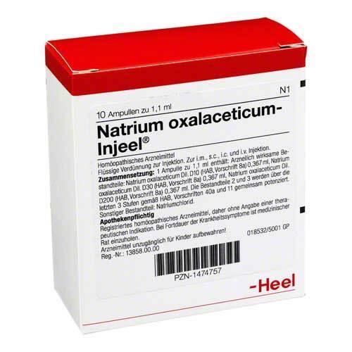 Natrium oxalaceticum Injeel Ampullen - 1