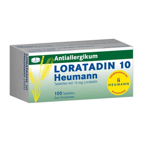 Loratadin 10 Heumann Tabletten - 1