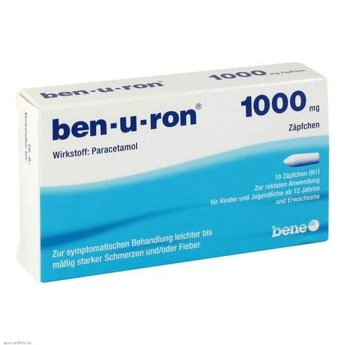 Ben-U-Ron 1000 mg Suppositorien - 1