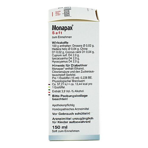 Monapax Saft - 2