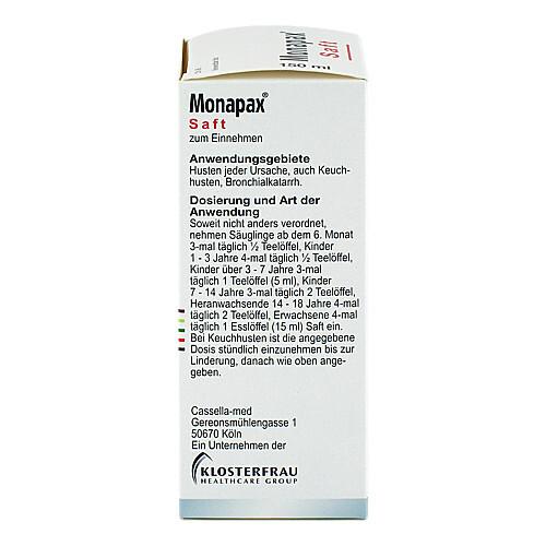 Monapax Saft - 3
