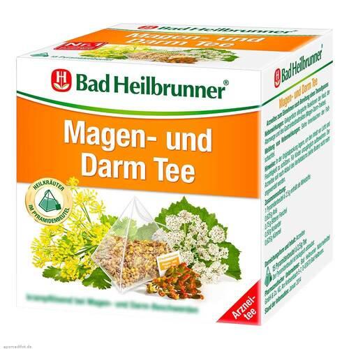 Bad Heilbrunner Tee Magen und Darm Pyramidenbeutel - 1