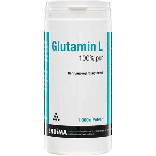 Glutamin L 100% Pur Pulver - 1