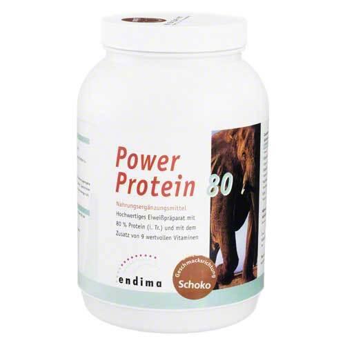 Power Protein 80 Schoko Pulver - 1