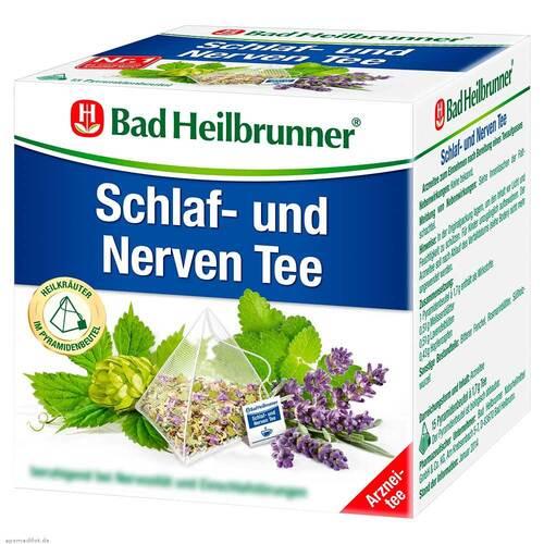 Bad Heilbrunner Tee Schlaf- und Nerven Pyram.Beutel - 1