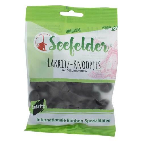 Seefelder Lakritz-Knoopjes zuckerfrei KDA - 1