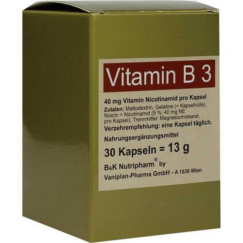 Vitamin B3 Kapseln - 1