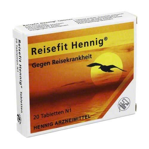 Reisefit Hennig 50 mg Tabletten - 1