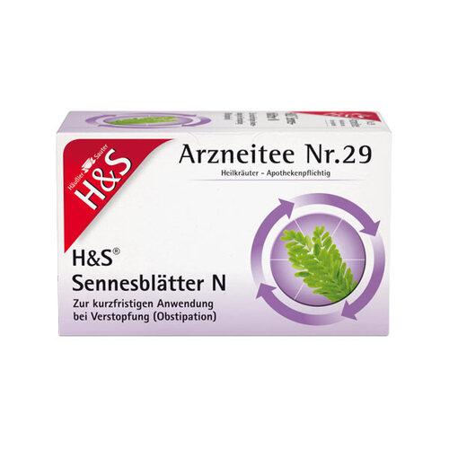 H&S Sennesblätter N Filterbeutel - 1