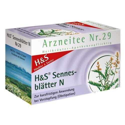 H&S Sennesblätter N Filterbeutel - 2