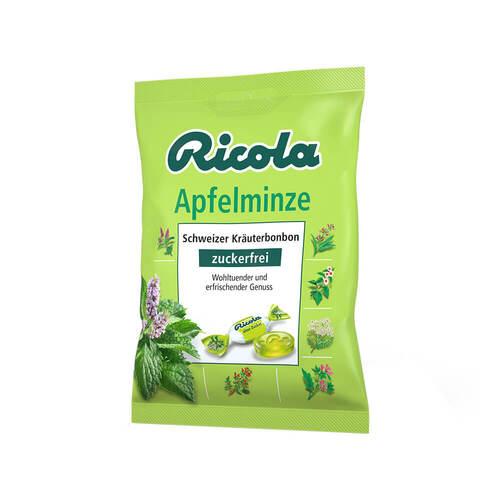 Ricola ohne Zucker Apfelminze Bonbons - 1