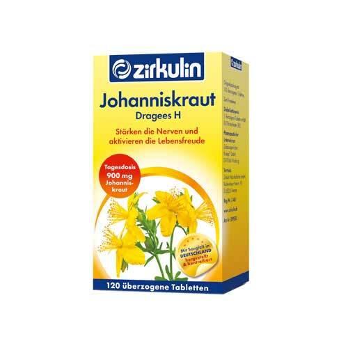 Zirkulin Johanniskraut Dragees H - 1