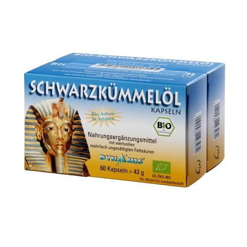 Schwarzkümmel Bio ägypt. Kapseln - 1