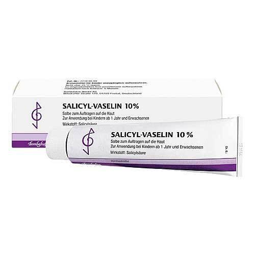 Salicyl Vaselin 10% Salbe - 1