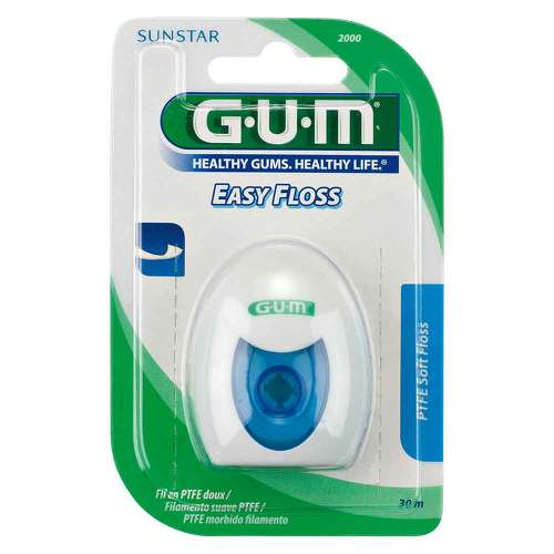 GUM Eez Thru Floss Teflon Zahnseide 50 m - 1