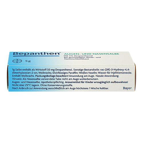 Bepanthen Augen- und Nasensalbe - 2