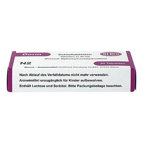 Dorm Tabletten - 3