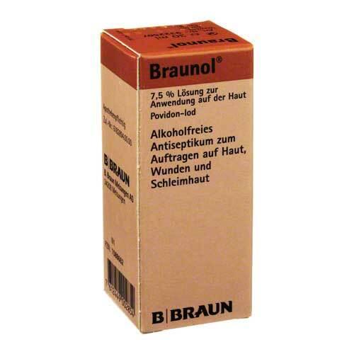 Braunol Schleimhautantisepti - 1