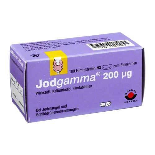 Jodgamma 200 Filmtabletten - 1