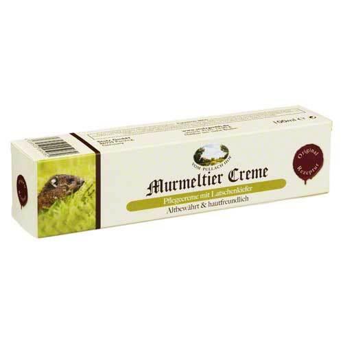 Murmeltier Creme mit Latschenkiefer - 1