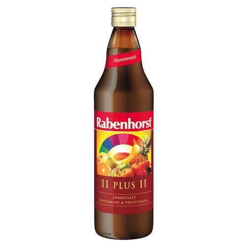 Rabenhorst 11 Plus 11 Multivitaminmehrfruchtsaft gelb - 1